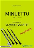 minuetto - clarinet quart...