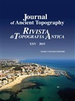Journal of ancient topography-Rivista di topografia antica (2015). Vol. 25
