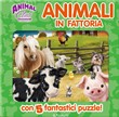 Animal club. Animali in fattoria. Libro puzzle