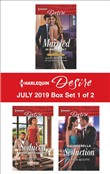 Harlequin Desire July 2019 - Box Set 1 of 2