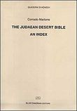 judaean desert Bible. An index