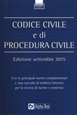 Codice civile e di procedura civile 2015
