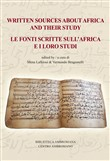 Written sources about Africa and their study-Le fonti scritte sull'Africa e i loro studi