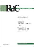 English administrative law. Justice and remedies in the contemporary state