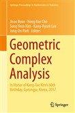 Geometric Complex Analysis
