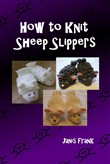 how to knit sheep slipper...