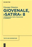 "Giovenale, ""Satira"" 8"
