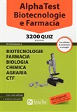 Alpha Test. Biotecnologia e farmacia. 3200 quiz