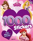 Disney princess. 1000 stickers. Con adesivi