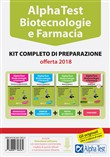 Alpha Test. Biotecnologia e farmacia. Kit completo