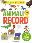 Animali da record. Super sticker