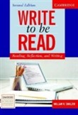 Write to be Read Sb