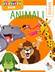 Animali. Activity book. Con adesivi. Ediz. illustrata