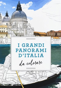 Image of I grandi panorami d'Italia da colorare