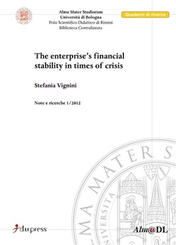 Image of The enterprises's financial stability in times of crisis - Stefania V