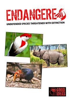 Endangered. Undefended species threatened with extinction. Ediz. italiana, inglese e spagnola