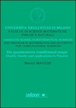 in linea On quasiconvex conditional maps. Duality results and applications to finance pdf epub