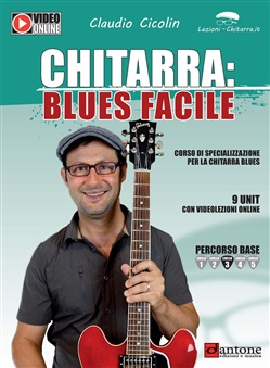 Image of Chitarra: blues facile - Claudio Cicolin