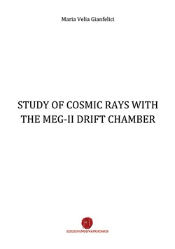 Study of cosmic rays with the Meg-II drift chamber