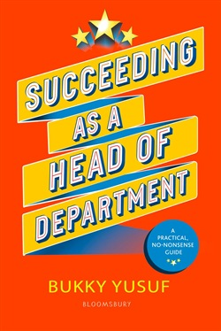 Succeeding as a Head of Department
