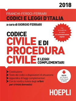 Codice civile e procedura civile 2018