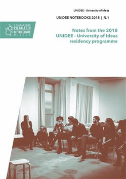 Image of Unidee notebooks (2018). Vol. 1: Notes from the 2018 Unidee. Universi