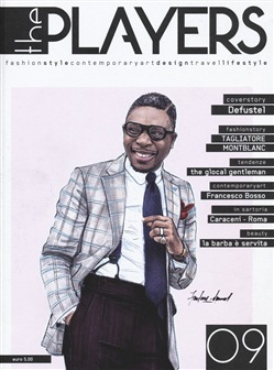 Image of The players. Magazine. Fashion style, contemporary design, travel. Vo