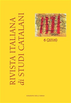 Rivista italiana di studi catalani (2016). Ediz. multilingue Vol. 6