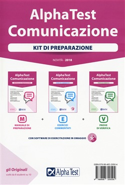 Alpha Test. Comunicazione. Kit di preparazione. Con Contenuto digitale per download
