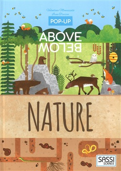 The nature. Above and below pop-up