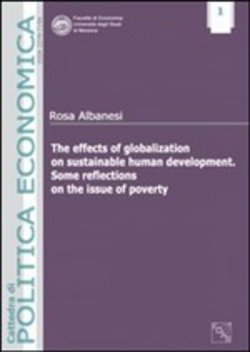 Image of The effects of globalization on sustainable human development. Some r