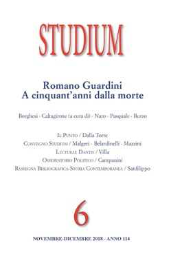 Studium (2018). Vol. 6: Romano Guardini