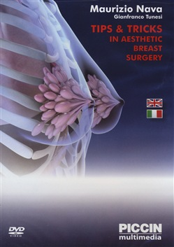 Image of Tips & tricks in aesthetic breast surgery. 2 DVD - Maurizio Nava;Gian