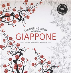 Giappone colouring book