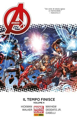 Avengers. Il Tempo Finisce 4 (Marvel Collection)