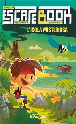 L'isola misteriosa. Escape book