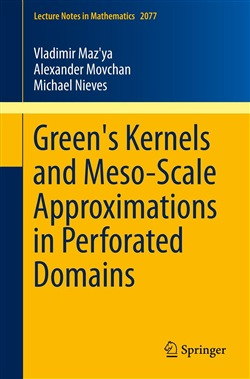 Green's Kernels and Meso-Scale Approximations in Perforated Domains