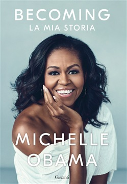 Copertina del libro Becoming, la mia storia di Michelle Obama