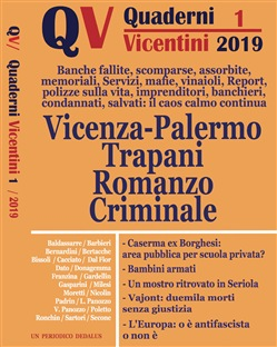 Image of Quaderni vicentini (2019). Vol. 1
