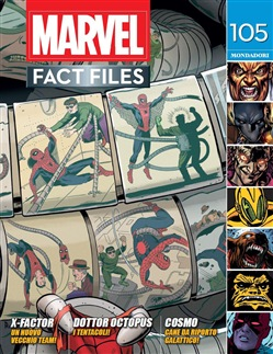 Marvel fact files. Vol. 55: 105-106