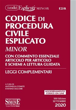 E2/A Codice di Procedura Civile Esplicato Minor