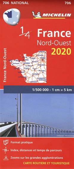 Francia nord ovest. Carta 1:500.000