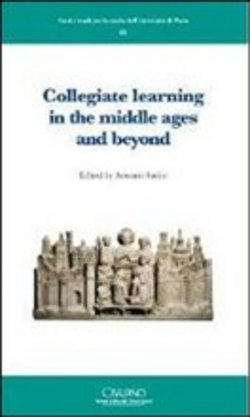 Image of Collegiate learning in the middle ages and beyond. Ediz. francese e i