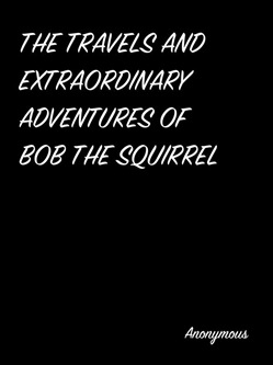 The Travels And Extraordinary Adventures Of Bob The Squirrel