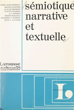 Sémiotique narrative et textuelle