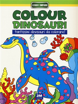 Image of Colour dinosauri verde