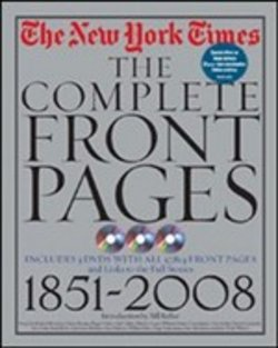 leggere The New York Times The Complete Front Pages 1851-2008 pdf
