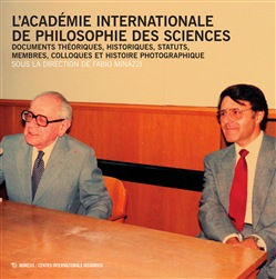 Image of L'Académie Internationale de philosophie des sciences. Documents théo