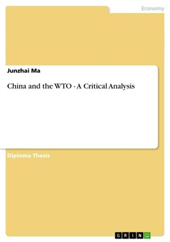 China and the WTO - A Critical Analysis