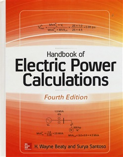 Image of Handbook of electric power calculations - H. Wayne Beaty,Surya Santos